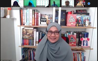Seminar Parenting POMG SMPI Al Hasanah Bersama dr Aisah Dahlan